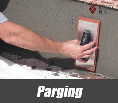 Parging - Masonry Plus