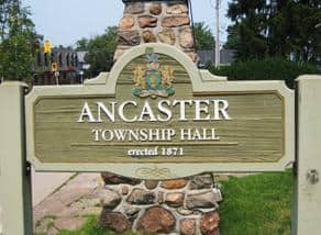 Ancaster ON - City Sign - Masonry Plus