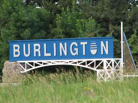 Burlington ON - City Sign - Masonry Plus