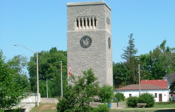 imcoe ON - Carillon Tower - Masonry Plus
